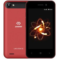Digma Linx Atom 3G Red