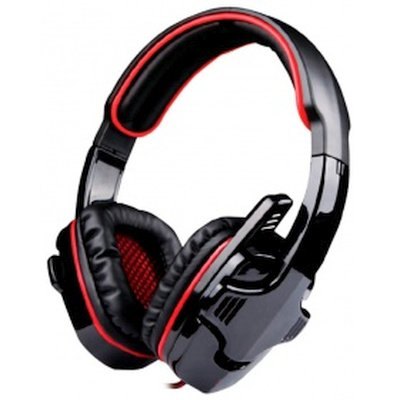 Гарнитура Marvo H8316 Black-Red