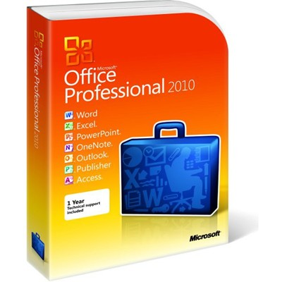 Microsoft Office Professional 2010 269-15654