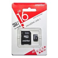 SmartBuy 16GB SB16GBSDCL10-01