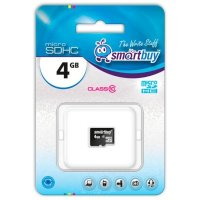 SmartBuy 4GB SB4GBSDCL10-00