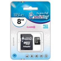 SmartBuy 8GB SB8GBSDCL4-01